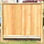 Solid Tongue & Groove Fence