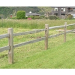 Split Rail - Pressure Treated Post
